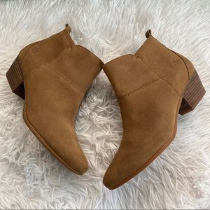 Timberland Carleton Side Zip Ankle Booties Boots 9